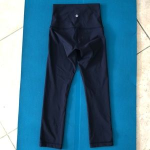 Lululemon Wunder Under HR tights Midnight Navy